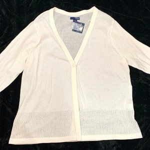 NWT  PERFECT for SPRING   Lite-weight CARDIGAN  2X